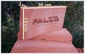 Ladrillo Tipo Obra de 3x14x28cm