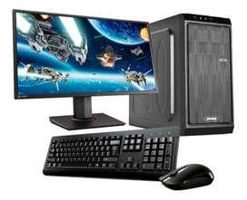 PC AMD RYZEN 5 8GB 240GB IDEAL GAMMER FORTNITE FREE FIRE Y OTROS // TARJ 12 / 18 LOCAL A LA CALLE! DIGIOFERTAS CBA