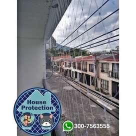 Mallas Transparentes Anticaidas para Balcones y Ventanas