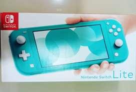 Nintendo Swich lite Turquesa