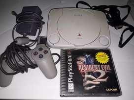 Play station 1 Nintendo con Resident Evil 2 ( UN SOLO CD)