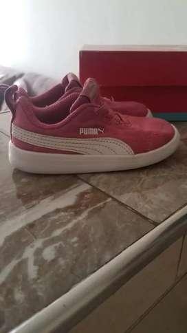 Hermosos tenis marca Puma talla 24 en perfecto estado