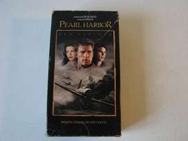 Pearl Harbor VHS 2 Videos Con Estuche Original los cassettes VHS tambien son originales