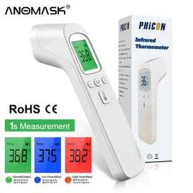 Termómetro Digital infrarrojo para adultos y bebés, medidor de temperatura médico