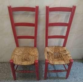 4 sillas para restaurar