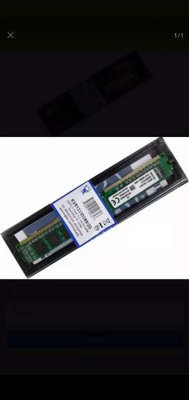 Memoria ram DDr3 4gb -1600 marca coradir y Memoria Ddr3 Kingston 2gb 1333mhz 1.5v