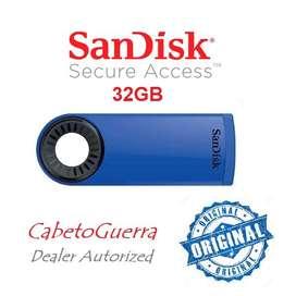 Memoria sandisk 32gb cruzer dial usb 2 Nueva Original E Inmediata