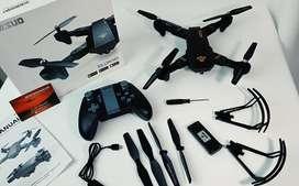 Drone Visuo Xs809hw Control De Altura Plegable 3 Baterias NUEVO