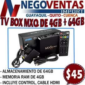 TV BOX MXQ PRO DE 4 GB Y 64 RAM