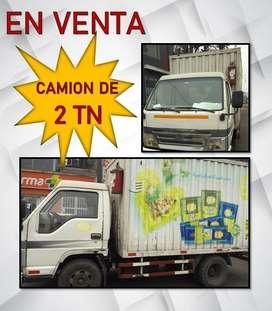venta de camion 2 tn