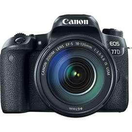 Canon EOS 77D kit Lente 18 - 135mm IS  NUEVA