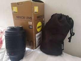 Lente de cámara Nikon 55-200