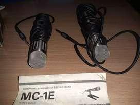 Vendo 2 micrófonos kenwood MC-1E