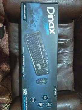 Combo!  Mouse y teclado.