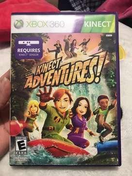 Videojuego kinect adventures! Para xbox360 con tarjeta calibracion