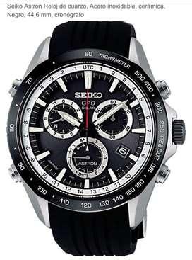 """Usado Reloj Seiko de la colección """"Astron"""", con tegnología solar y GPS"""