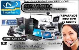 Computadoras y Laptops , reparaciones