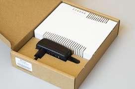 Router Mikrotik RB951G-2HnD 5 puertos de Giga