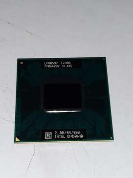 Procesador Intel Core 2 Duo T7300 2.00 GHZ laptop