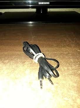 Cable Audio Estéreo Auxiliar