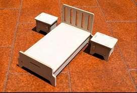 Juego de Dormitorio para Muñeca