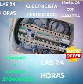 Electricista certificado