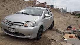 Auto Toyota Etios año 2016 -2017