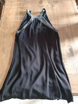 Vestido negro talle 3