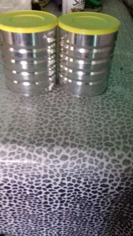 Vendo 20 latas con tapas