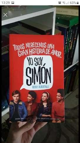 Libro yo soy Simon