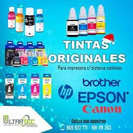 TINTAS ORIGINALES PARA IMPRESORAS