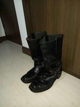 Botas de hombre en cuero marca Los altos boots de Estados Unidos