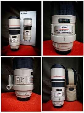 Lente Canon Ef 300 Mm F / 4l Is Usm