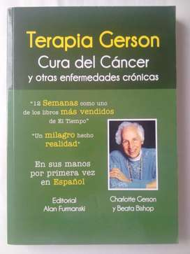 Libro Terapia Gerson