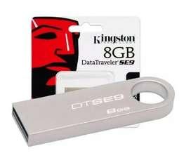 Memoria Usb Kingston 8 Gb Dtse9 Original Sellada