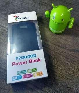 Power Bank Original -  Bateria Portatil marca ADATA 20.000 mah