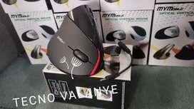 Mouse MyMobile optical vertical inalámbrico recargable