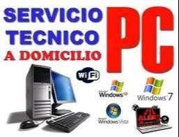 Servicio técnico a DOMICILIO de computadoras, impresoras, cámaras de seguridad DVR, CLASES DE SISTEMAS