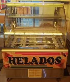 Exhibidora de helados