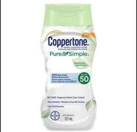 Bloqueador solar Coppertone 50 spf