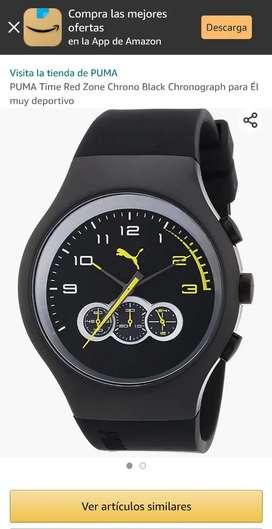 Reloj Puma cronógrafo original