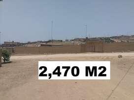VENDO Terreno 2,470 m2 en CARABAYLLO