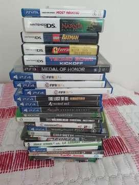 Juegos Nintendo, Ps4, wii entre otros
