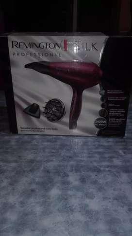 secador de pelo Remigton silk profesional
