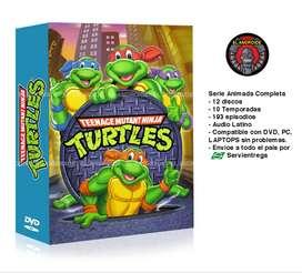 Tortugas Ninja Serie Animada Completa Tmnt