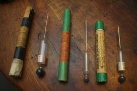 Antiguos instrumentos de origen Frances para la Medición del Vino. Coleccionistas