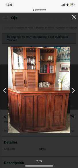 Mueble tipo bar