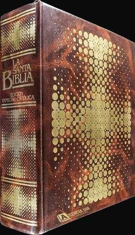 La SANTA BIBLIA Edicion Familiar Catolica, Grande