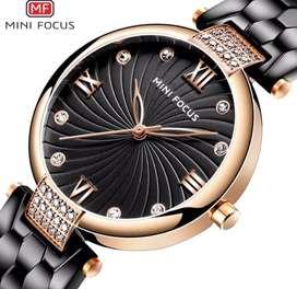 Reloj de Marca con diseño de correa unico
