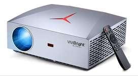 Proyector Led F40 Full Hd 1080 / 4200lm Sonido Hifi Hdmi + Bolso